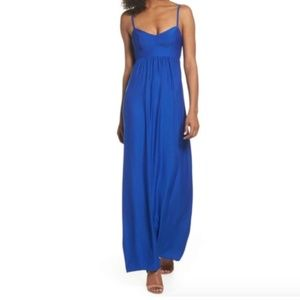 FELICITY & COCO Colby Woven Maxi Dress NEW